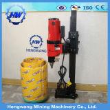 전기 150mm 드릴링 범위는 구체적인 코어 교련 기계를 운영한다