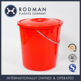 Muebles plásticos del hogar del barril de la tina plástica plástica roja del compartimiento