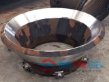Le broyeur de cône partie le manteau élevé d'acier de manganèse concave