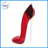 80ml envases cosméticos Zapatos de Tacón rojo vacío de pulverización de forma de botella de perfume de vidrio