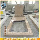 De Grafsteen van het graniet met de Volledige Randen van de Lengte