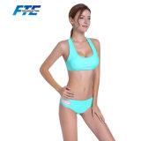 Bikini der kundenspezifischen Frauen-Badeanzug-Dame