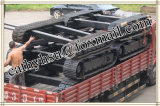 Système de chenilles en caoutchouc personnalisée / châssis porteur de chenille en caoutchouc de la Chine usine