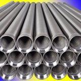 De aço inoxidável de alta qualidade do tubo de Tela do Filtro do fio de cunha