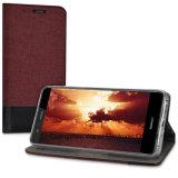 Аргументы за Huawei P10 Lite телефона случая Flip холстины