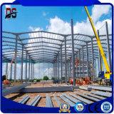 Helle Stahlkonstruktion-Lager-Metallvorfabriziertgebäude