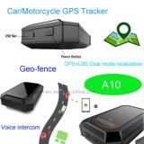 Автомобильная GPS Tracker с GPS+фунта режим Dual (A10)