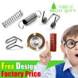 Спиральная пружина фабрики дешевая изготовленный на заказ стальная линейная автомобильная