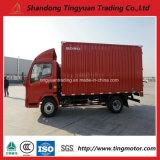 판매를 위한 Sinotruk HOWO 작은 상자 밴 Truck