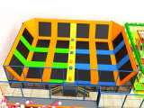 China Top 1 Trampoline Manufacturer Children und Adult Indoor Trampoline Park