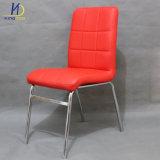 現代家具の安い革金属の夕食か食事の椅子