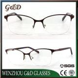 Nuevo modelo de gafas de metal popular espectáculo Marco óptica gafas