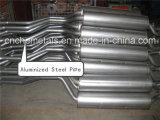 Tubo de acero aluminizado con DX53D/SA1D 80G/120G