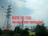 Torretta pesante della trasmissione di angolo e di tensionamento di Megatro 110kv 1f2-Sdj