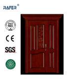 1つおよび半分または母息子の固体木のドア(RA-N049)