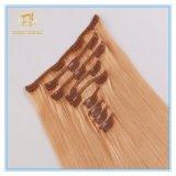Kundenspezifisches Farben-Qualitäts-großes auf lagerclip-Extensions-Haar mit Fabrik-Preis Ex-064
