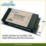 450W 102VDC al convertitore di alta efficienza DC-DC di 13.5VDC 33A