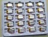 Venta caliente de la célula polímero de litio recargable 502.020 3.7V150mAh Li-polímero de litio 3.7V 150mAh de litio