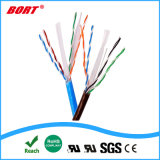 B&T Preto cabos de rede cabo UTP CAT6 com conectores RJ45