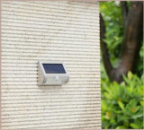 La luz de la energía solar Smart 9 LED LED Solar Sensor de movimiento de la seguridad de la luz de pared con baterías LiFePO