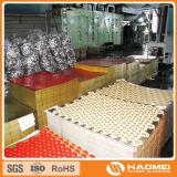 strato laccato oro di alluminio 8011