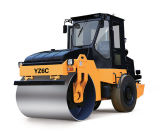 6ton 두 배 드럼 진동하는 도로 롤러 건축기계 쓰레기 압축 분쇄기