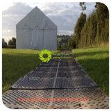HDPE van de Mat van de Bescherming van de Grond van het polyethyleen Corrosiebestendige Tijdelijke Rijweg