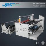 Autocollant de refendage d'étiquette vierge de la machine avec fonction de plastification