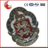 BSCI personnalisé de haute qualité en usine insigne métallique, l'axe d'un insigne