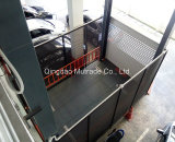 4 системы стоянкы автомобилей лифта автомобиля платформы гидровлических подъема столба