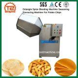 Máquina de mistura de especiarias Octangle Tempero Máquina de aromatizantes para batatas fritas