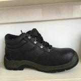 Puntera de acero de los hombres de cuero Zapatos de seguridad, calzado de seguridad Ufc005