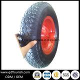 Le rotelle gonfiabili colpiscono la rotella di gomma pneumatica per il carrello della carriola