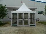 При отклонении от партии с бегущей строкой пагода площади палатку