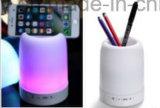 Mini Lampe porte-plume de lumière LED Double Bluethooth sans fil haut-parleur pour PC Phone