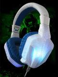 Herz-128 de kleurrijke StereoHoofdtelefoon van PC & van het Spel met LEIDEN van de Microfoon Licht
