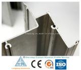 Perfis de alumínio expulsos com projeto diferente