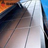 20 años de garantía de 0,5 mm de espesor de pared de cortina de aluminio ACP