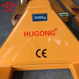 Carro de paleta manual hidráulico de la mano de 5 toneladas