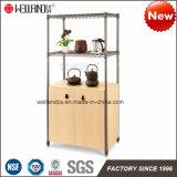 2017 mobilia Acciaio-Di legno del metallo della cucina di nuovo disegno di brevetto DIY per la mobilia di memoria della sala da pranzo