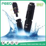 ダイオードの光起電コネクターMc4のコネクターが付いているMc4 PVのコネクター