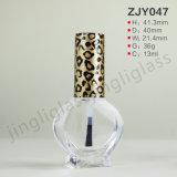 Verschiedener Entwurf 13ml leeren kosmetische Behälter-Nagellack-Flasche mit Schutzkappe