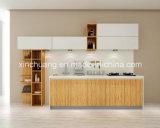 Todo MDF acrílico brilhante conjunto armário de cozinha