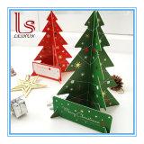 3D Weihnachtsbaum-Gruß-Karten