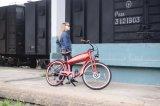 Bicicletta elettrica dell'annata del vecchio banco di stile di Harley