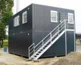 Het geprefabriceerde die Huis van de Zaal van de Vergadering door 20FT Container wordt gemaakt