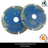 Le granit de disque de découpage de Turbo de diamant scie la lame