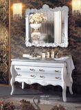 白いカラー浴室の家具のキャビネットNj-617)