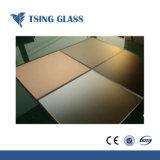 Décoration de 5-12mm ultra clair verre laqué peinte en blanc