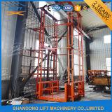 Le mécanisme de levage vertical électrique rail de guidage de plate-forme fixe de levage